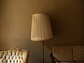 Lamp and Upholstered Chairs