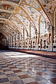 Antiquarium, 66 meters long, Residenz, Munich, Upper Bavaria,  Bavaria, Germany