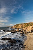 USA, California, Northern California, North Coast, Bodega Bay, Bodega Head, late afternoon