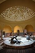 Israel, North Coast, Akko-Acre, ancient city, Hammam Al-Pasha Turkish Bath, built in 1780, interior