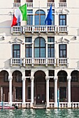 architecture , building , canal , color image , column , day , Europe , house , Italy , lagoon , outdoor , Veneto , Venezia , Venice , vertical , water , V04-1585402 , AGEFOTOSTOCK