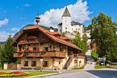 architecture , Austria , building , color image , day , Europe , fortification , fortress , heritage , historic , horizontal , Mauterndorf , outdoor , V04-1589880 , AGEFOTOSTOCK
