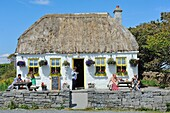 Ireland, County Galway, Aran Islands, Inishmore, Kilmurvey local cafe