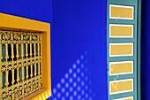 Museum of Islamic Arts detail Jardin Majorelle Marrakech Morocco