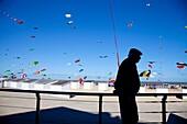 International Kite Festival in Ostend, Belgium, Europe