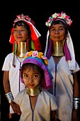 A group of Longneck females Approximately 300 Burmese refugees in Thailand are members of the indigenous group known as the Longnecks The largest of the three villages where the Longnecks live is called Nai Soi, located near Mae Hong Son City Longnecks we