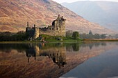 Kilchurn Castle on Loch Awe Argyll and Bute Scotland