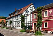 View of the old school of Joachimsthal, Schorfheide, Uckermark, Land Brandenburg, Germany, Europe