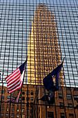 Bank of Amerika in der 42th Street, New York City, New York, USA