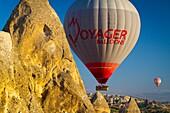 Hot-air ballon  Capadoccia, Turkey