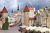 Viru Varav City Gate, Viru Street,Old Town,Tallinn,Estonia