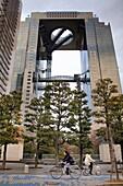 Shin Umeda City skyscraper,Osaka, Japan,Asia