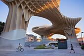Metropol Parasol,in Plaza de la Encarnación,Sevilla,Andalucía,Spain