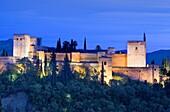 Alcazaba,Alhambra, Granada Andalusia, Spain