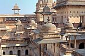 Jahangiri mahal early 17th century, Orchha, Madhya Pradesh state, India