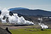 Krafla  Geothermal area  North east Iceland
