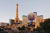 Paris Hotel and Casino, The Strip, Las Vegas, Nevada, USA