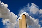 Tampa Electric Companys coal-fired BIg Bend Power Station on Tampa Bay in Hillsborough County near Apollo Beach Florida