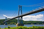 Mid-Hudson Bridge over the Hudson River in New York State