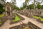Preah KhanPrah Khan, Sacred Sword, is a temple at Angkor, Cambodia, built in the 12th century for King Jayavarman VII, It is located northeast of Angkor Thom, Angkor, UNESCO World Heritage Site, Cambodia, Indochina, Southeast Asia, Asia