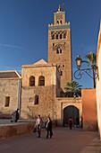 La Koutoubia minaret old city Marrakech Morocco