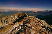 Photo by moonlight, Pachola Peak, Tatra National Park, Slovakia