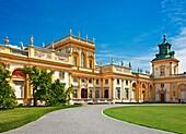 Warsaw, Wilanow Royal Palace, Poland, Europe