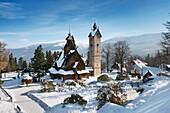 Wang chapel in Karpacz norwegian church, Karkonosze Mountains, Poland, Europe