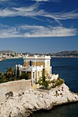 Villa House of Mansion with Sea View near the Corniche Coast Road Anse de Maldormé and Bay of Marseille or Marseilles France