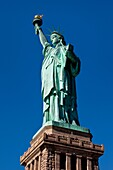 Statue of Liberty in New York Harbor, New York City USA