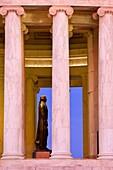 Early morning at the Jefferson Memorial, Washington DC USA