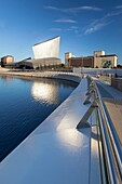 Imperial War Museum North, Salford Quays, Manchester, England