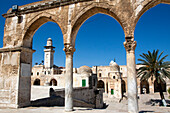 The Esplanade Of The Mosques (Haram Al-Sharif), Temple Mount, The Old City Of Jerusalem, Israel