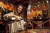 """Virginie Taupenot, Winemaker At The Family-Owned Vineyards Taupenot-Merme And President Of The Association """"Women And Wines Of Burgundy, The Great Burgundy Wine Road, Morey-Saint-Denis, Cote D'Or (21), France"""