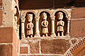 France, Midi-pyrénées, Aveyron (12), Lot valley, Lot valley, Espalion, Perse church