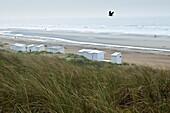 Europe, Belgium, North Sea, Western Flanders, De Haan, the beach
