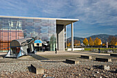 Exterior view of the Technical University, Freiburg im Breisgau, Black Forest, Baden-Wuerttemberg, Germany, Europe