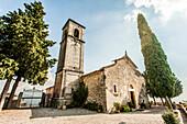 Church near Marano di Valpolicella, Lago di Garda, Province of Verona, Northern Italy, Italy