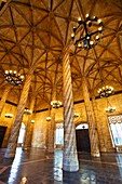 La Lonja de la Seda  Silk Exchange  World Heritage Site by UNESCO  16th century  Valencia  Comunidad Valenciana  Spain