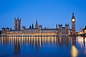 UK, United Kingdom, Great Britain, England, London, Westminster, Houses of Parliament, Palace of Westminster, Big Ben, Parliament, Landmark, River Thames, Thames River, River, Rivers, UNESCO, UNESCO World Heritage, Sites, Dawn, Morning, Night View, Touris