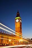 UK, United Kingdom, Great Britain, England, London, Westminster, Houses of Parliament, Palace of Westminster, Big Ben, Parliament, Landmark, UNESCO, UNESCO World Heritage, Sites, Sunset, Evening, Night View, Illumination, Tourism, Travel, Holiday, Vacatio
