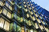 UK, United Kingdom, Great Britain, Britain, England, London, Southwark, More London Piazza, Offices, Office Building, Office Lights, Office Windows, Business, Architecture, Modern Architecture, Graphic, Night View, Night Lights, Illumination, Norton Rose,