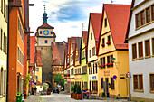 Germany, Europe, travel, Rothenburg, Romantic Road, Galgengasse, Street, architecture, Bavaria, colourful, Germany, Europe, travel, history, house, old, road, romantic, symbol, traditional. Germany, Europe, travel, Rothenburg, Romantic Road, Galgengasse,