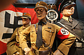 UK, United Kingdom, Great Britain, Britain, England, Europe, London, Imperial War Museum, Nazi, Nazis, Nazism, Uniform, WWII, world war, Museum, Interior. UK, United Kingdom, Great Britain, Britain, England, Europe, London, Imperial War Museum, Nazi, Nazi