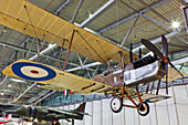 UK, United Kingdom, Great Britain, Britain, England, Europe, Cambridgeshire, Duxford, Imperial War Museum, IWM, Museum, Museums, Planes, Aeroplanes, Military, Military, Aircraft, Interior. UK, United Kingdom, Great Britain, Britain, England, Europe, Cambr