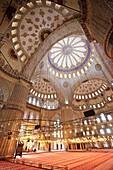 Blue Mosque, Sultan Camii Ahmeth, year 1616, Istanbul, Turkey Asia