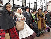 The Rochester Dickens Summer Festival took place on June celebrating the anniversary of Dickens birth  City of Rochester  England  United Kingdom