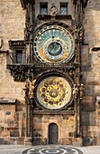 Old Town Hall, astronomical Clock, Prague, Czechia