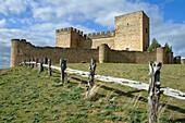 Castle of Pedraza, walled medieval village declarated Historical-Artistic Site  Segovia province  Castilla y León  Spain