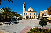 Greece, Crete island, Chania, orthodox cathedral